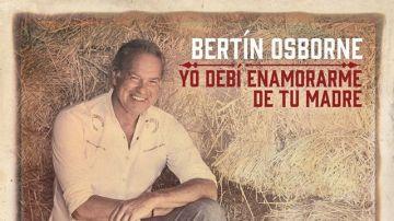 Portada del nuevo disco de Bertín Osborne