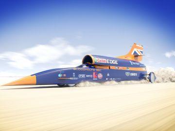 El proyecto del Bloodhound entra en administración y está más lejos el sueño de superar los 1.600 km/h