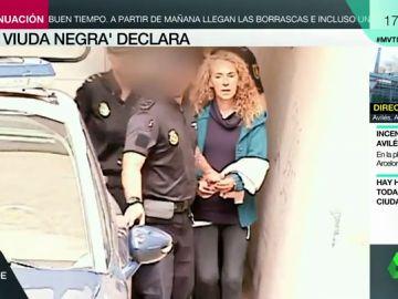 La viuda negra de Alicante y su cuidador declaran por petición propia: