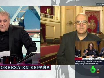 Antonio García Ferreras y Juan Carlos Llano