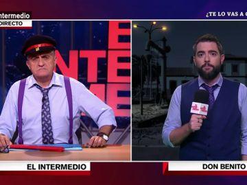 """Dani Mateo se desplaza a Badajoz para conocer la situación de la red ferroviaria en Extremadura: """"He tardado tanto en llegar que tengo jetlag"""""""