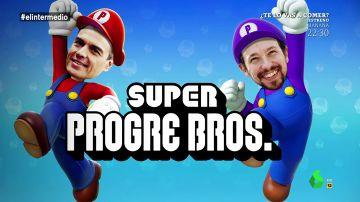 """'Super Progre Boss': el videojuego de los """"brothers"""" Sánchez e Iglesias que lo peta entre los jóvenes"""