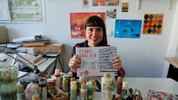 La ilustradora valenciana Ana Penyas