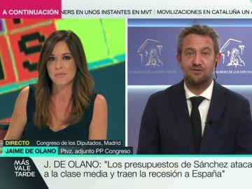 """Jaime de Olano, sobre los Presupuestos del Gobierno y Podemos: """"El proyecto es perjudicial porque ataca a las clases medias"""""""