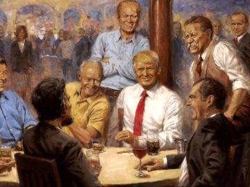 Trump, Aznar, Obama... estos son los retratos presidenciales más destacados