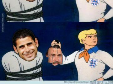 Los memes del Inglaterra vs España