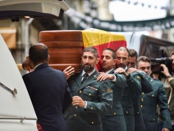 Funeral del guardia civil asesinado en Granada