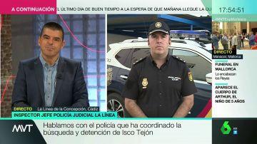"""Habla el inspector que ha cordinado la detención del líder de Los Castaña: """"No se llegó a ningún acuerdo con él. Se entregó por la presión"""""""