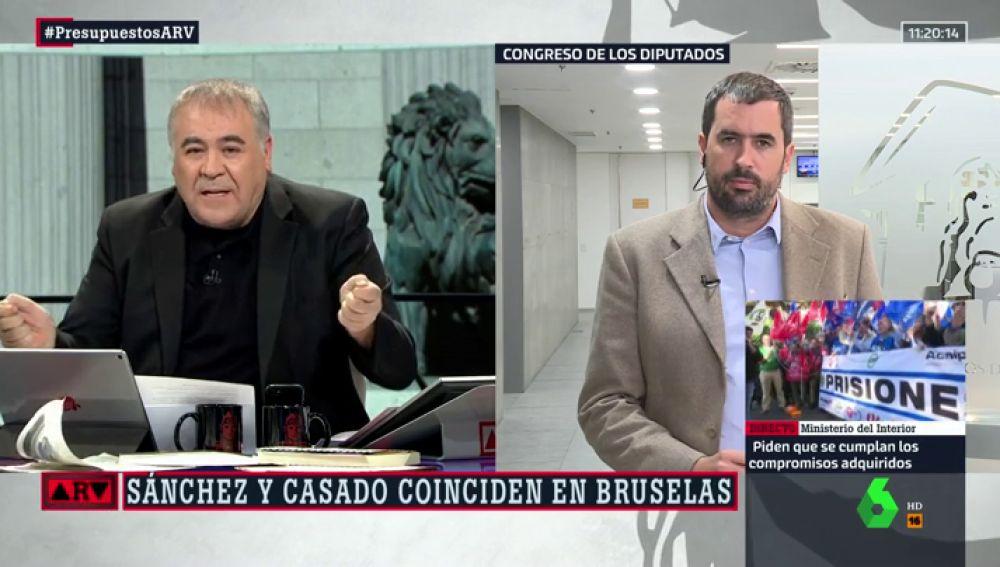 Antonio García Ferreras y Carlos E. Cué