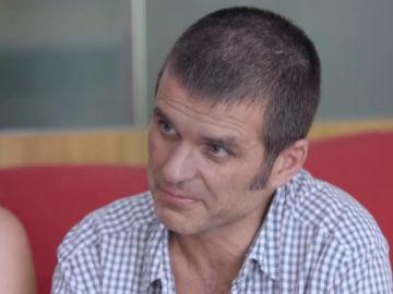 Carlos Martínez, enfermo de ELA