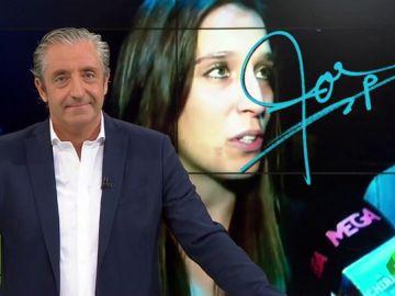 """Josep Pedrerol: """"Felicidades, Cristina Baudet. Felicidades, familia"""""""