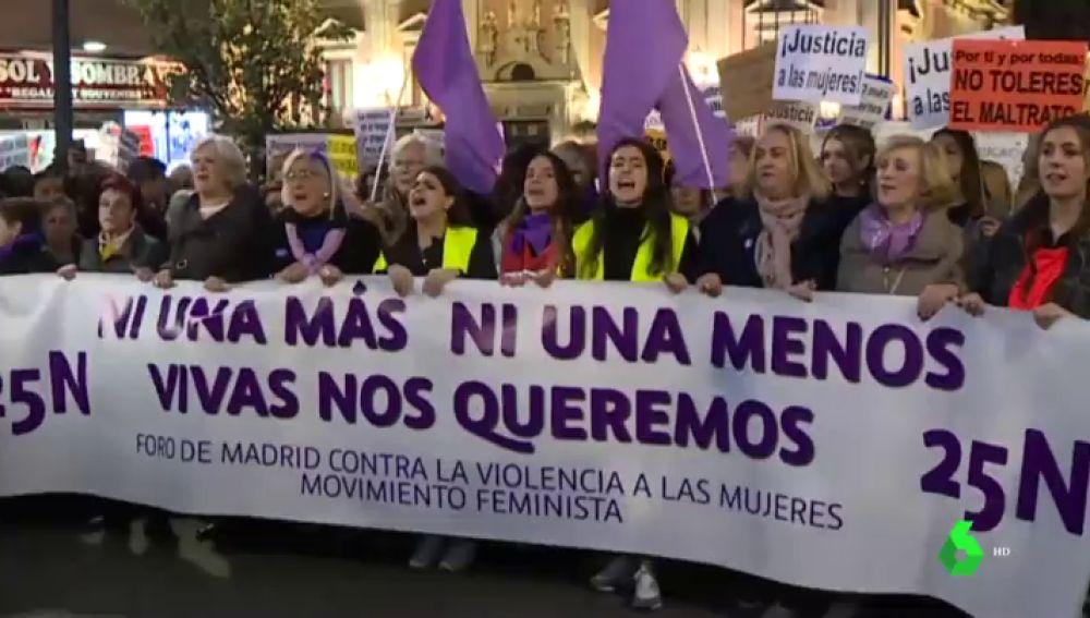 Movilización contra la violencia machista