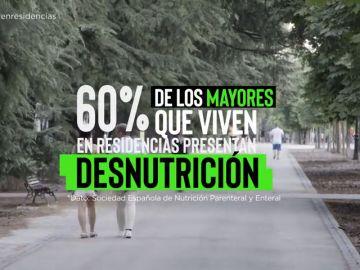 El 60% de los mayores presentan desnutrición