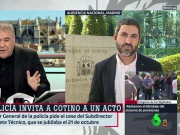 Antonio García Ferreras y Pedro Águeda