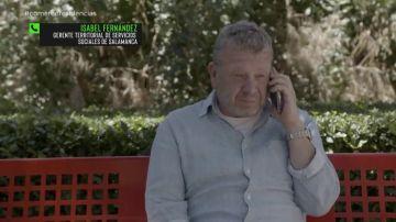 Chicote habla con la gerente Territorial de Servicios Sociales de Salamanca