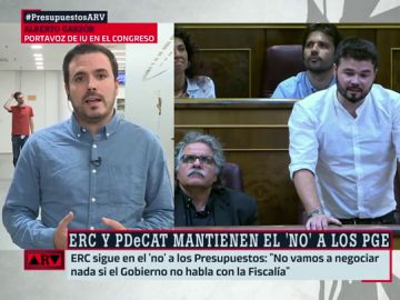 Alberto Garzón y Gabriel Rufián