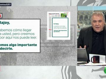 La genial publicidad para contactar con el Sr. Rajoy... ¡a través del Marca!