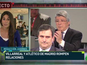 El Villarreal rompe relaciones con el Atlético de Madrid