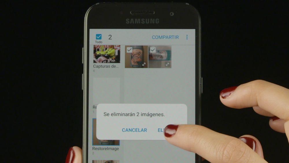 Cómo recuperar imágenes borradas del móvil