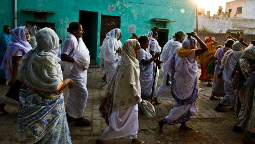 Mujeres en la India