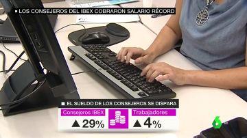 Subida de sueldos de los trabajadores del IBEX