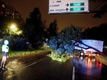 Fuerte temporal de lluvias que afecta a la Comunitad Valenciana