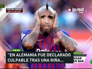 Arturo Vidal, multado con 800.000 euros por participar en un pelea en una discoteca alemana en 2017