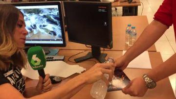 Isabel Zubiaurre explica con un sencillo experimento por qué no es gota fría lo que ocurrirá en la Comunidad Valenciana