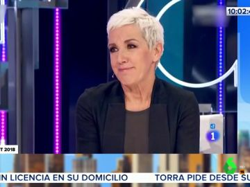 """La """"difícil noche"""" de Ana Torroja en OT"""