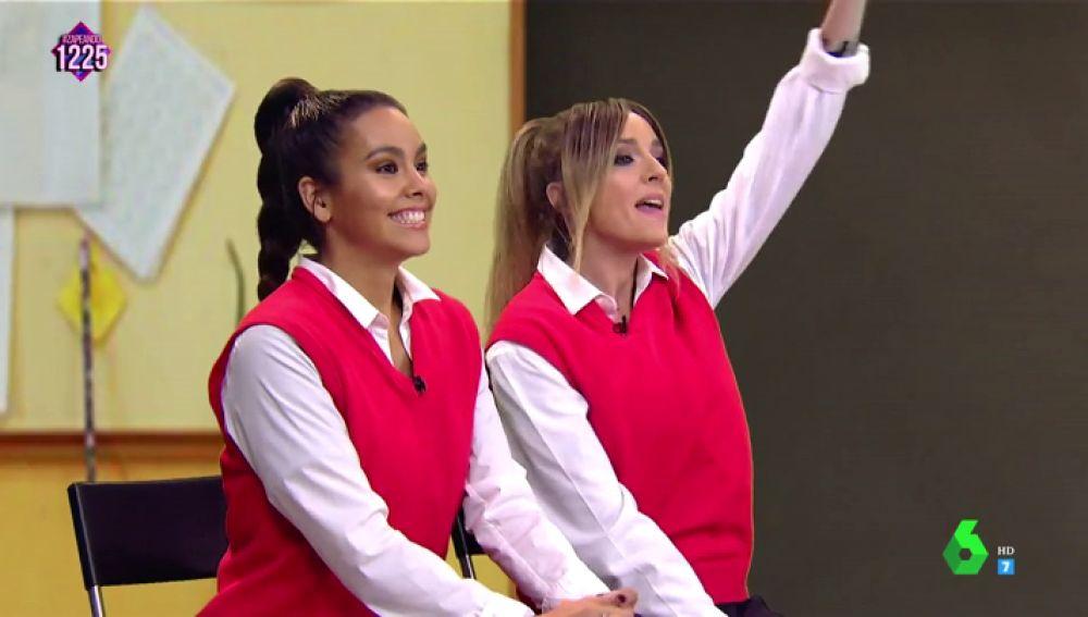 Anna Simon y Cristina Pedroche