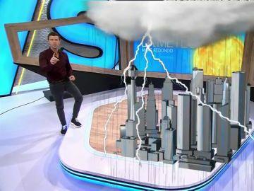 ¿En qué lugar de España caen más tormentas?