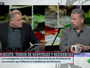 Antonio García Ferreras y Alberto Chicote