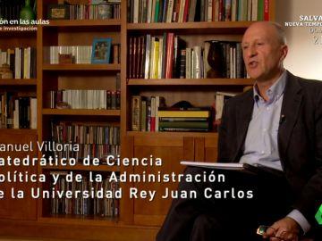 """Manuel, catedrático del Instituto de Derecho Público: """"Nunca participé. Álvarez Conde me incluyó en el listado por prestigio"""""""