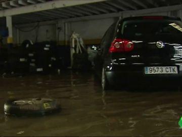 Inundaciones en un taller de Castellón