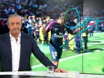 "Josep Pedrerol: ""Florentino, déjalo. Bartomeu, olvídalo. Que Neymar se quede en París"""