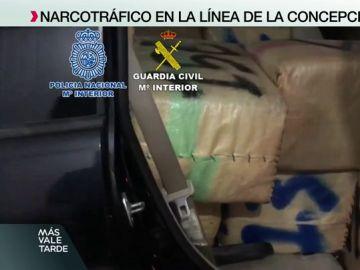 Comienza la lucha por ocupar el puesto de Los Castaña: las autoridades incautan nuevos cargamentos en la Línea de la Concepción