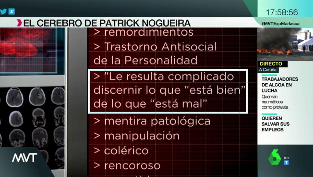 """Un informe psiquiátrico revela que el cerebro de Patrick Nogueira, el asesino de Pioz, """"no se ajusta a criterios de normalidad"""""""