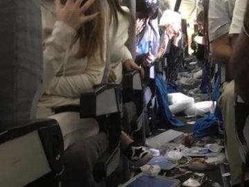 Turbulencias en un avión de Argentina