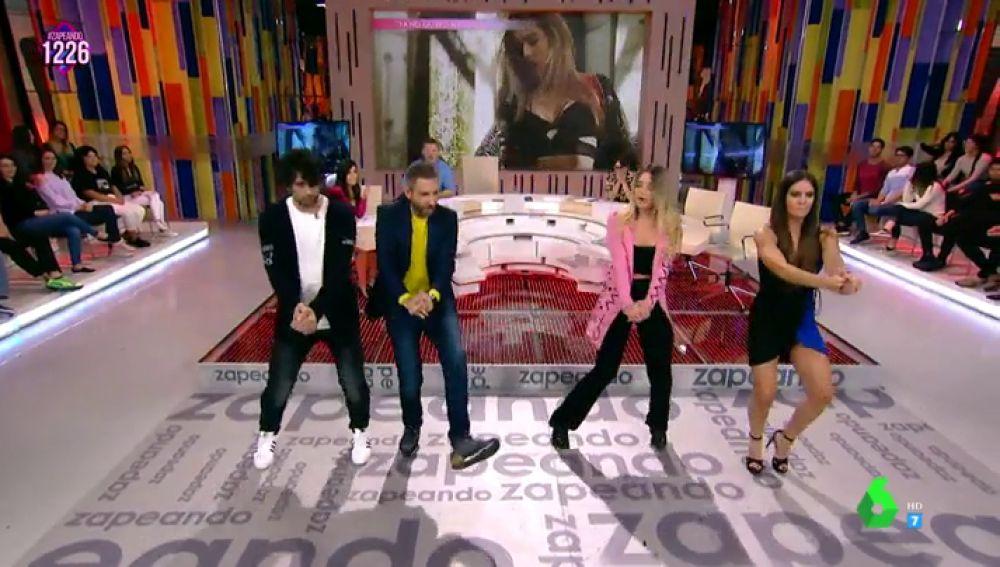 Mimi enseña a los zapeadores a bailar su tema 'Ya no quiero ná'