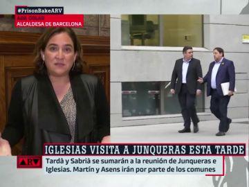 Ada Colau, en Al Rojo Vivo