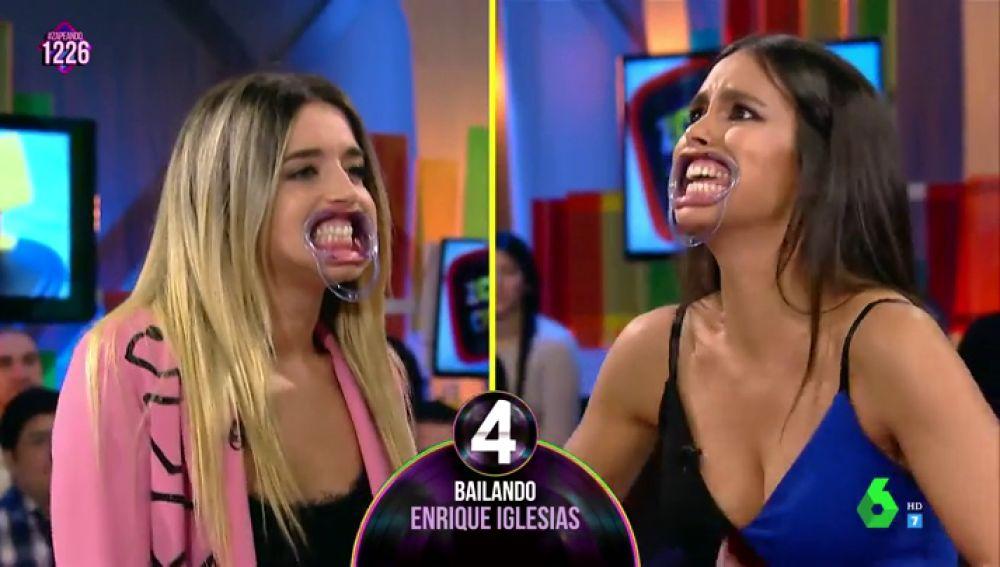"""Cristina Pedroche y Mimi juntas en el juego de 'Bocas locas': """"Con algunas canciones no había ni nacido"""""""