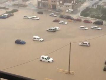 Estragos del fuerte temporal en Vinaròs