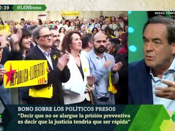 """José Bono: """"El separatismo es lo más casposo, derechista, conservador y antiguo que puede existir"""""""