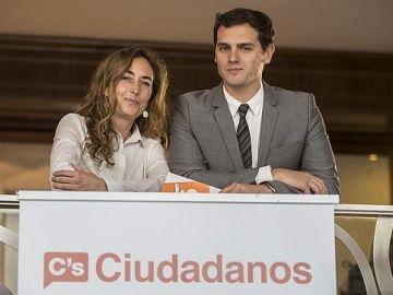 Carolina Punset y Albert Rivera