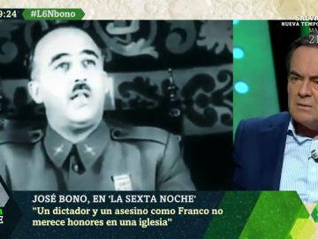 """La crítica de Bono a que Franco sea enterrado en la Almudena: """"Un asesino no merece honores en una iglesia católica"""""""