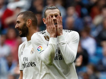 Gareth Bale se lamenta
