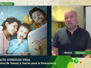 """Ignacio González Vega: """"La sentencia no ha quedado paralizada, es firme y a las partes se les va a aplicar"""""""