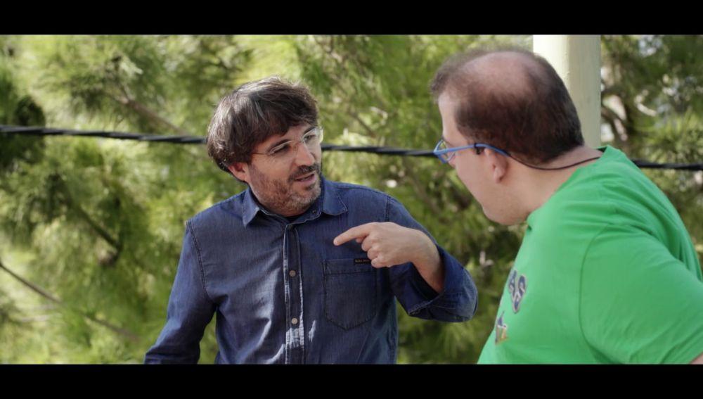 Jordi Évole y Jesús, actor de Campeones
