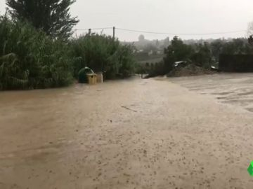 Imagen de las inundaciones en Málaga