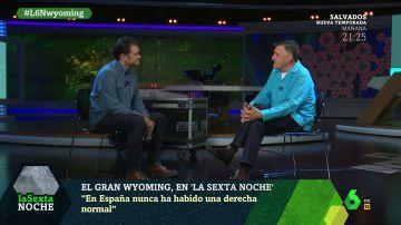 """El análisis de Wyoming sobre la derecha española: """"Los franquistas no sólo no dejaron de serlo, sino que se lo inculcaron a sus hijos"""""""